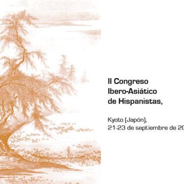 Publicadas las actas del II Congreso Ibero-Asiático de Hispanistas (Kioto, 2013), coorganizado por IDEA