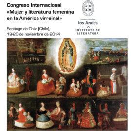 Congreso Internacional «Mujer y literatura femenina en la América virreinal»