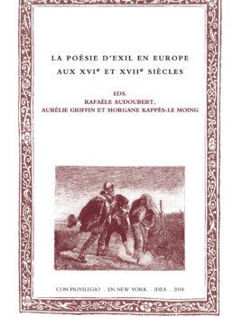 49. La poésie d'exil en Europe aux XVIe et XVIIe siècles